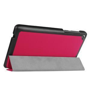 Trifold polohovatelné puzdro pre Lenovo Tab 2 A7-20 - rose - 5