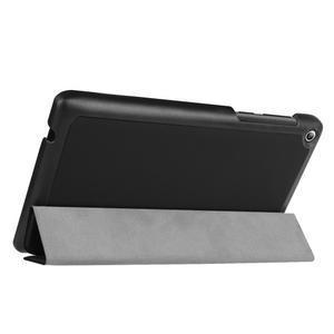Trifold polohovatelné puzdro pre Lenovo Tab 2 A7-20 - čierné - 5