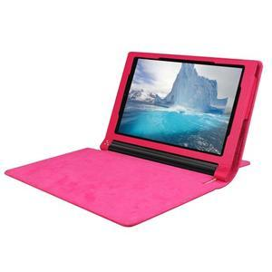 Safe PU kožené puzdro pre tablet Lenovo Yoga Tab 3 8.0 - rose - 5