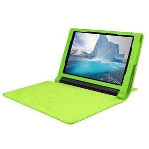 Safe PU kožené puzdro pre tablet Lenovo Yoga Tab 3 8.0 - zelené - 5