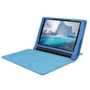 Safe PU kožené puzdro pre tablet Lenovo Yoga Tab 3 8.0 - svetlomodré - 5