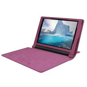 Safe PU kožené pouzdro na tablet Lenovo Yoga Tab 3 8.0 - fialové - 5
