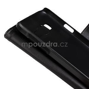 Kožené puzdro na Samsung Galaxy A3 - biele - 5