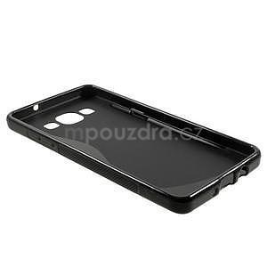Gélové s-line puzdro pre Samsung Galaxy A3    - čierné - 5