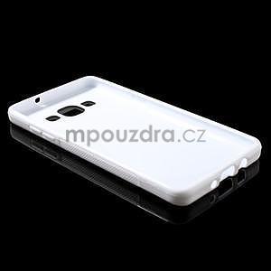 Gélové s-line puzdro pre Samsung Galaxy A3    - biele - 5