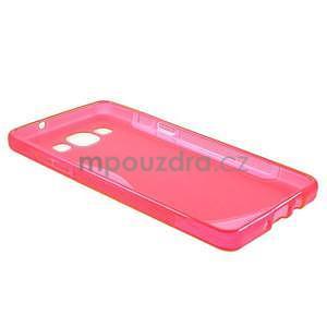 Gélové s-line puzdro na Samsung Galaxy A3 - ružová - 5