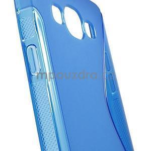 Gélové s-line puzdro pre Samsung Galaxy A3    - modrá - 5