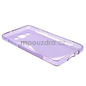 Gélové s-line puzdro na Samsung Galaxy A3 - fialová - 5