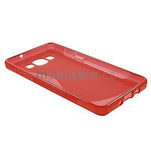 Gélové s-line puzdro na Samsung Galaxy A5 - červené - 5