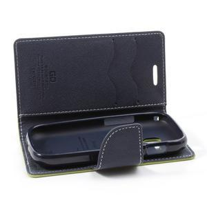 Diary puzdro na mobil Samsung Galaxy S Duos / Trend Plus - zelené - 5