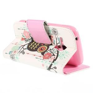Peňaženkové puzdro pre Samsung Galaxy S Duos / Trend Plus -  sova - 5