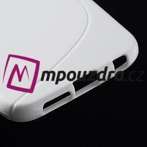 Gélové s-line puzdro pre Samsung Galaxy S6 - biele - 5