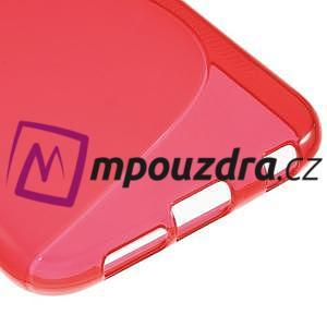Gélové s-line puzdro pre Samsung Galaxy S6 - červené - 5
