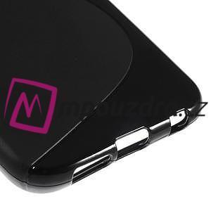 Gélové s-line puzdro pre Samsung Galaxy S6 - čierné - 5