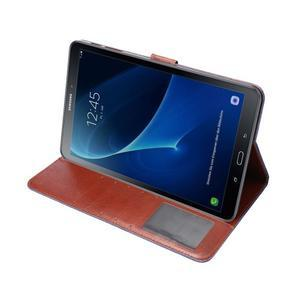 Jeans puzdro pre tablet Samsung Galaxy Tab A 10.1 (2016) - tmavomodré - 5