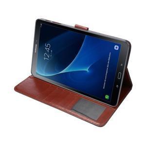 Jeans puzdro na tablet Samsung Galaxy Tab A 10.1 (2016) - černomodré - 5