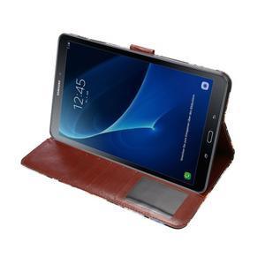 Květinové puzdro na tablet Samsung Galaxy Tab A 10.1 (2016) - čierné - 5