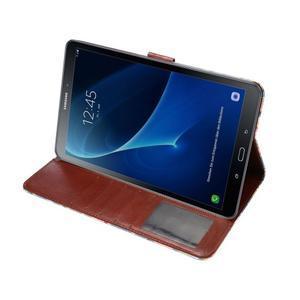 Kvetinové puzdro pre tablet Samsung Galaxy Tab A 10.1 (2016) - modré - 5