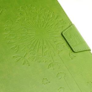 Dandelion PU kožené puzdro pre Samsung Galaxy Tab A 10.1 (2016) - zelené - 5