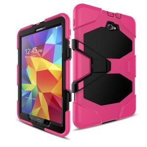 Armory 3v1 odolný obal pre tablet Samsung Galaxy Tab A 10.1 (2016) - rose - 5