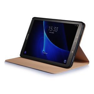 Picture polohovatelné puzdro na Samsung Galaxy Tab A 10.1 (2016) - čtverečky - 5