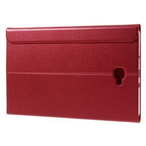 Flippy štýlové puzdro pre Samsung Galaxy Tab A 10.1 (2016) - červené - 5
