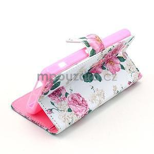Puzdro pre mobil Sony Xperia Z1 Compact - kvety - 5