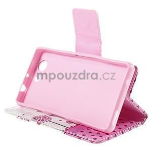 Puzdro pre mobil Sony Xperia Z3 Compact - devče a púpavy - 5
