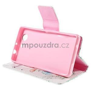 Puzdro na mobil Sony Xperia Z3 Compact - kreslené pampelišky - 5
