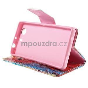 Puzdro pre mobil Sony Xperia Z3 Compact - malované púpavy - 5