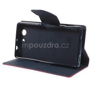 Diary peněženkové pouzdro na mobil Sony Xperia Z3 Compact - rose - 5