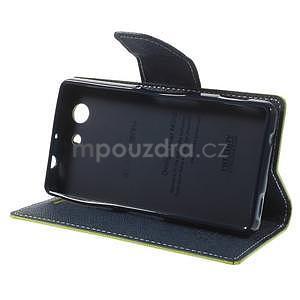 Diary peněženkové pouzdro na mobil Sony Xperia Z3 Compact - zelené - 5
