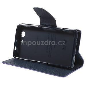 Diary peněženkové pouzdro na mobil Sony Xperia Z3 Compact - fialové - 5
