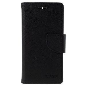 Kožené puzdro na Xiaomi Mi4 - čierné - 5