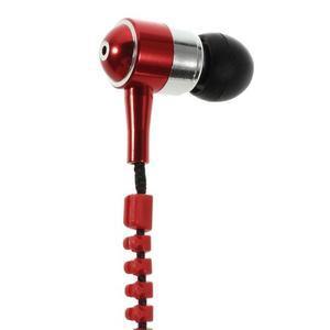 Zippy pecková slúchadlá pre počúvanie hudby - červená - 5