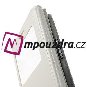 Luxusní pěněženkové puzdro na Samsung Galaxy S3 i9300 - biele - 5