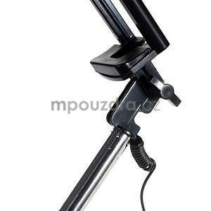 GX automatická selfie tyč se spínačem - ružová - 5