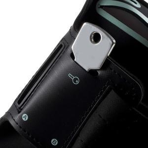 Fittsport puzdro na ruku pre mobil do rozmerov 143.4 x 70,5 x 6,8 mm - black - 5