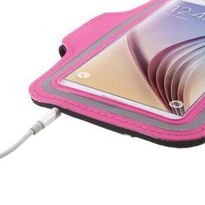 Fittsport pouzdro na ruku pro mobil do rozměrů 143.4 x 70,5 x 6,8 mm - rose - 5