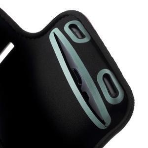 Fittsport puzdro na ruku pre mobil do rozmerov 143.4 x 70,5 x 6,8 mm - modré - 5