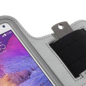 Gym bežecké puzdro na mobil do rozmerov 153.5 x 78.6 x 8.5 mm - šedé - 5