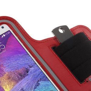 Gym běžecké pouzdro na mobil do rozměrů 153.5 x 78.6 x 8.5 mm - červené - 5