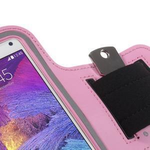 Gym bežecké puzdro na mobil do rozmerov 153.5 x 78.6 x 8.5 mm - ružové - 5