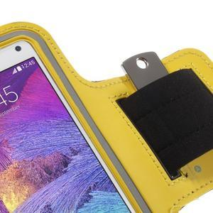 Gym bežecké puzdro na mobil do rozmerov 153.5 x 78.6 x 8.5 mm - žlté - 5