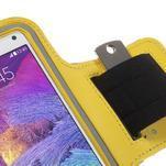 Gym bežecké puzdro na mobil do rozmerov 153.5 x 78.6 x 8.5 mm - žlté - 5/7