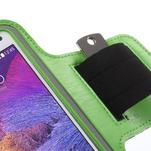 Gym běžecké pouzdro na mobil do rozměrů 153.5 x 78.6 x 8.5 mm - zelené - 5/7