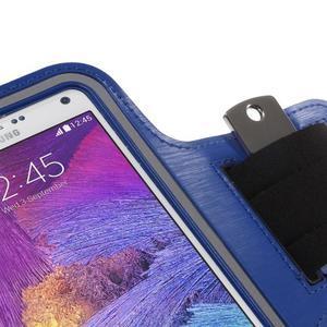 Gym bežecké puzdro na mobil do rozmerov 153.5 x 78.6 x 8.5 mm - modré - 5
