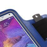 Gym bežecké puzdro na mobil do rozmerov 153.5 x 78.6 x 8.5 mm - modré - 5/7