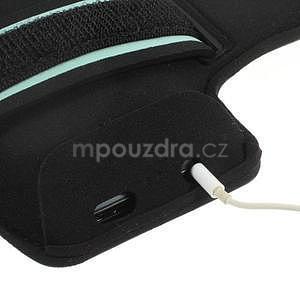 Run bežecké puzdro na mobil do veľkosti 131 x 65 mm - modré - 5