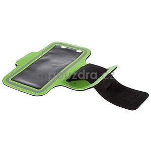 Gyms puzdro na behanie pre mobily do 143 x 70 mm -  zelené - 5